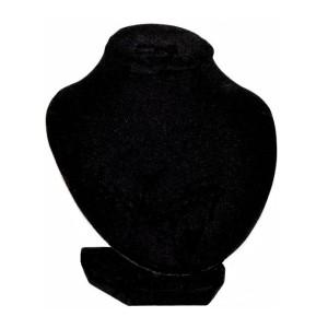 Бюст черный бархатный, арт.B017