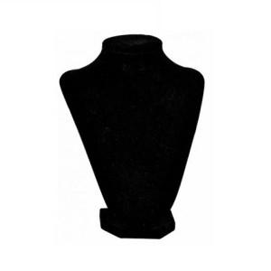 Бюст черный бархатный, арт. B001