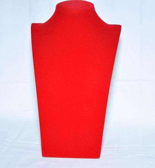 Шея из красного бархата, арт.B102