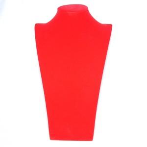 Бюст из красного бархата, арт.B-101