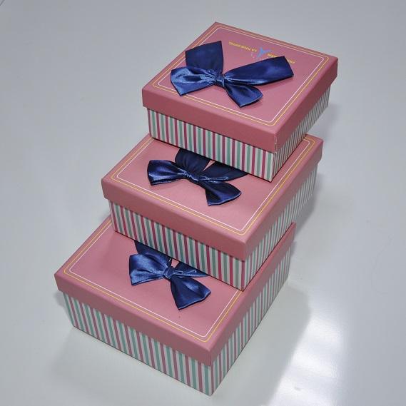 Коробки 3 в 1 для упаковки подарков, арт.K-04