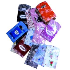 Подарочные целлофановые пакеты, цена указана за 50шт. арт.PA1
