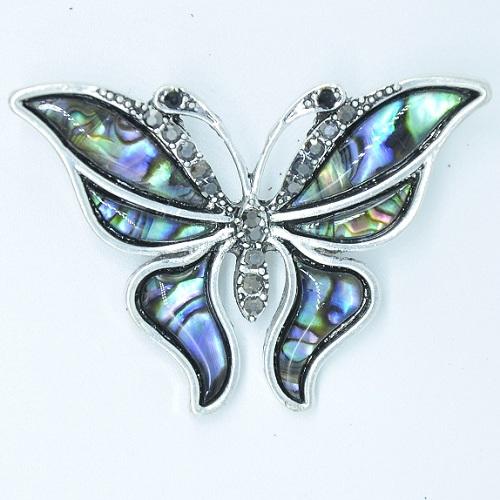 Брошь перламутровая «бабочка»
