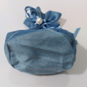 Мешочки из велюра с жемчугом, цена указана за 25 шт.