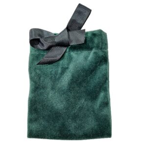 Мешочки из велюра с лентой, цена указана за 100 шт.