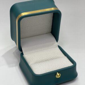 Футляр из экокожа под кольцо, цена указана за 6 шт.
