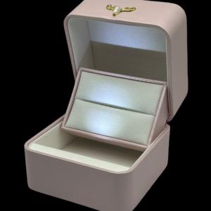 Футляры с подсветкой под обручальных колец, цена указана за 3 шт. арт. FS54