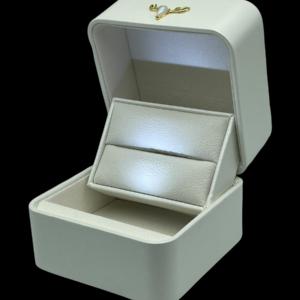 Футляры с подсветкой под обручальных колец, цена указана за 3 шт. арт. FS55