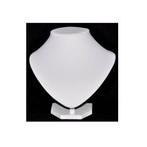 Бюст белый из кожзама, арт.B011