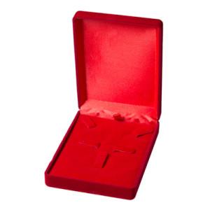 Футляр под серьги с кольцом, арт.F075