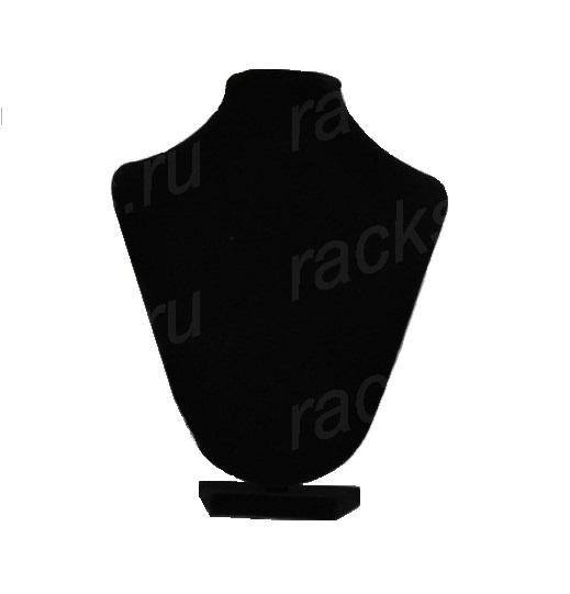Бюст из черного бархата, арт.B0035