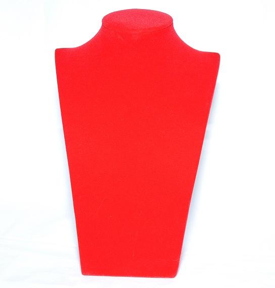 Бюст из красного бархата, арт.B-103