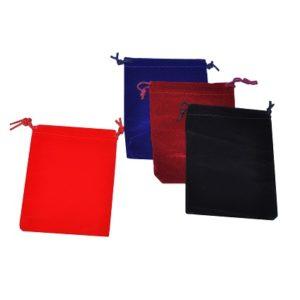 Мешочки бархатные для украшений, цена указана за 100 шт.