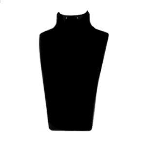 Бюст черный из акрила, арт.P-153