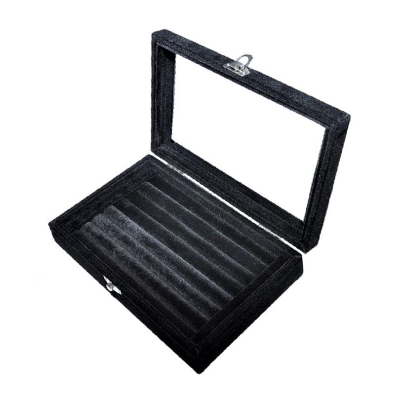 Шкатулка-планшет с крышкой для колец, арт. PL-73b