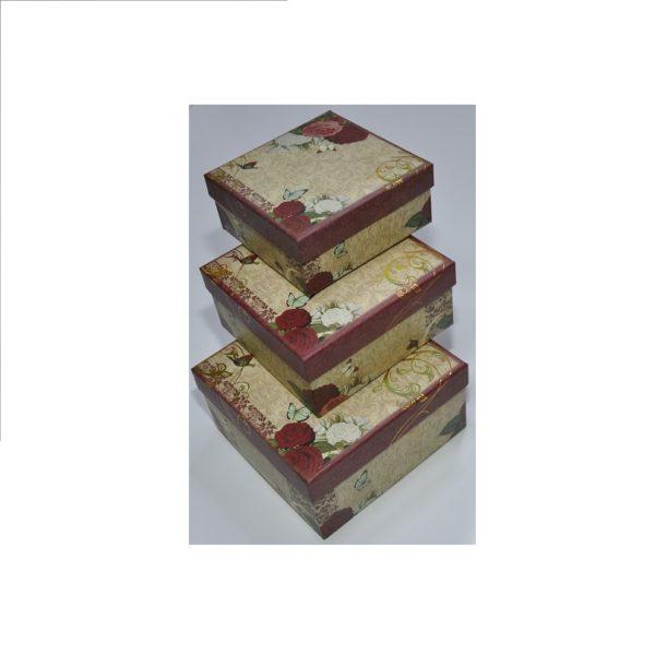 Набор коробок из 3 шт, арт.K-03