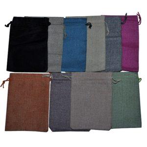 Мешочки подарочные, цена указана за 100 шт.