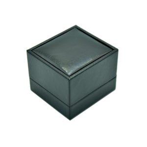 Футляр из экокожа, цвет черный, под кольца и запонки, цена указана за 6 шт. .