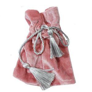 Мешочки из велюра с косичкой, цена указана за 50 шт.
